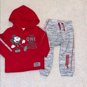 Disney Baby marching Mickey Mouse set
